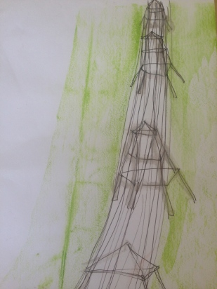 Pylons Sketch